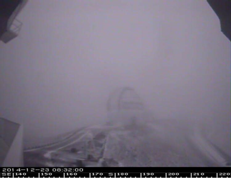 MAUNA KEA: Gemini Telescope aiked north