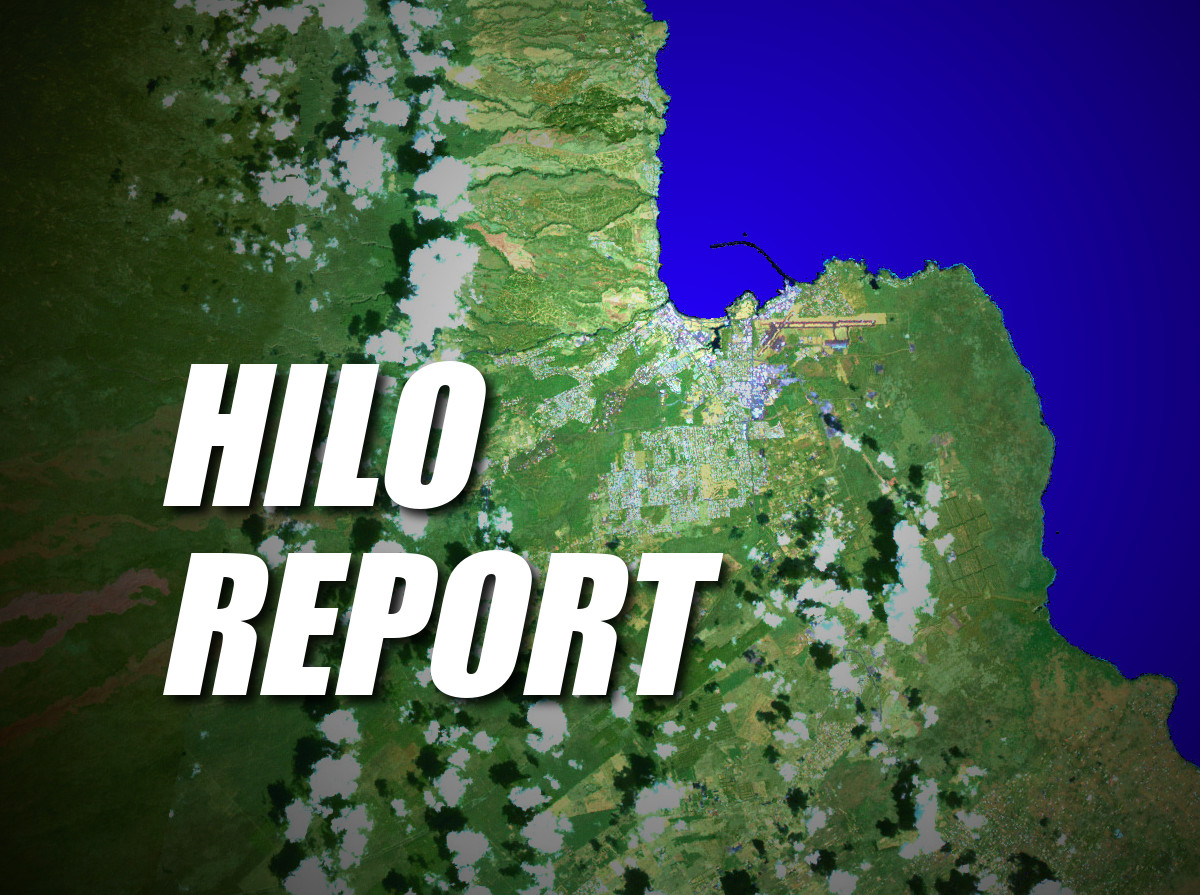 Hilo Report – Wednesday, Dec. 10