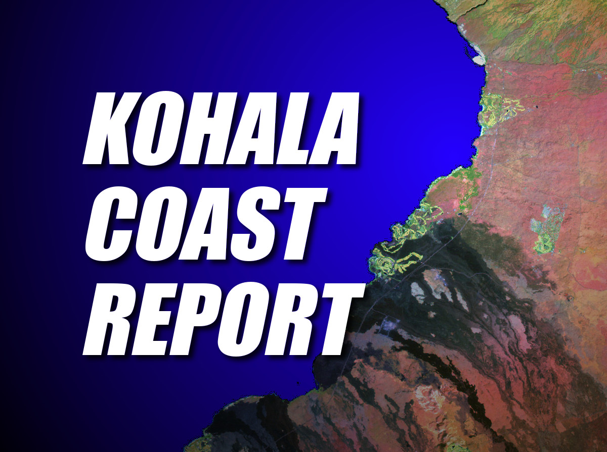 Kohala Coast Report – Wednesday, Dec. 10