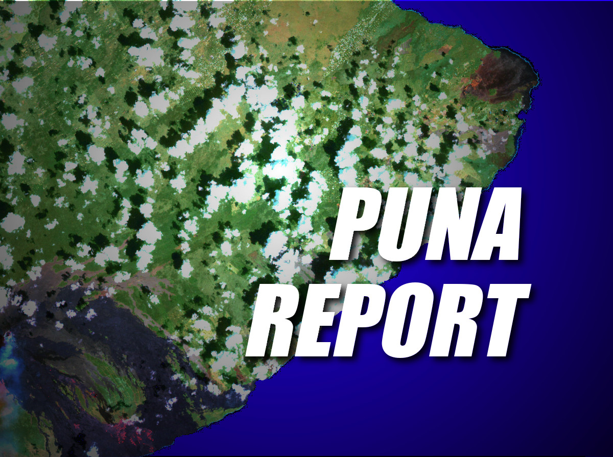 Puna Report – Wednesday, Dec. 3