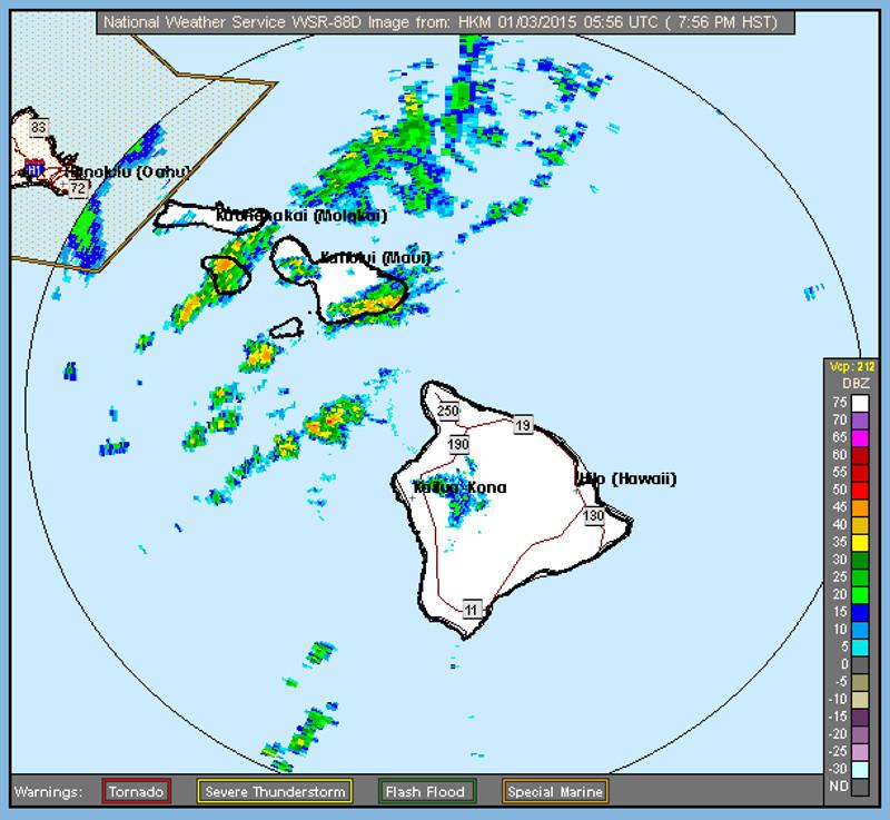 High Wind Advisory Issued As Big Island Awaits Storm