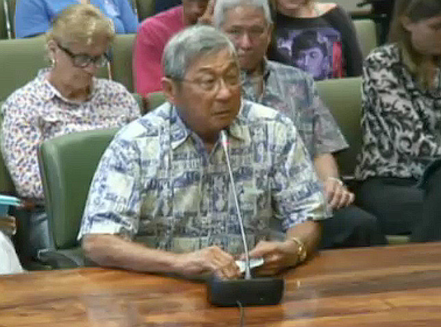 VIDEO: Harry Kim Testifies On Geothermal Night Drilling