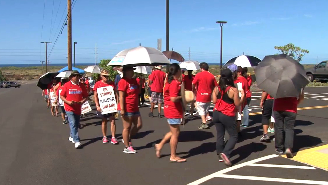 VIDEO: Union Strike Ends At Kaiser, Talks Set For Next Week