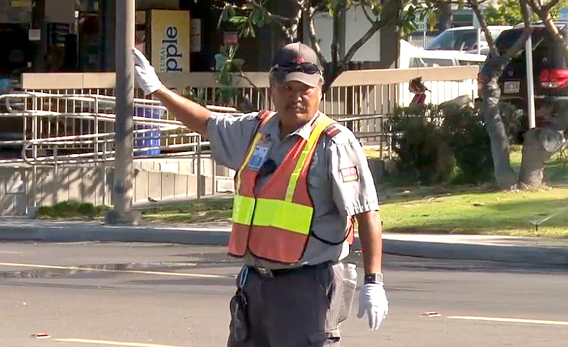 VIDEO: Kona Airport Security Vote Yes For Union