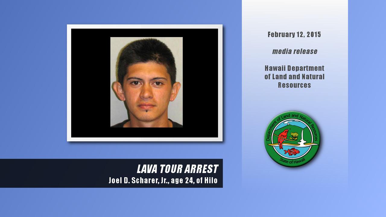 DLNR Arrests Lava Tour Guide For Trespass