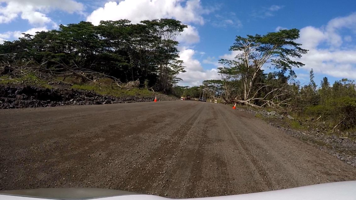 Railroad Ave Re-Opens As Downed Trees, Power Lines Block Kahakai