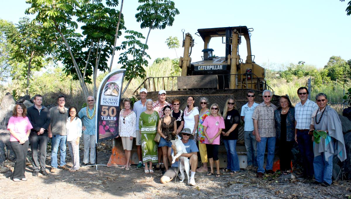 Animal Community Center Begins Groundwork In Keauhou
