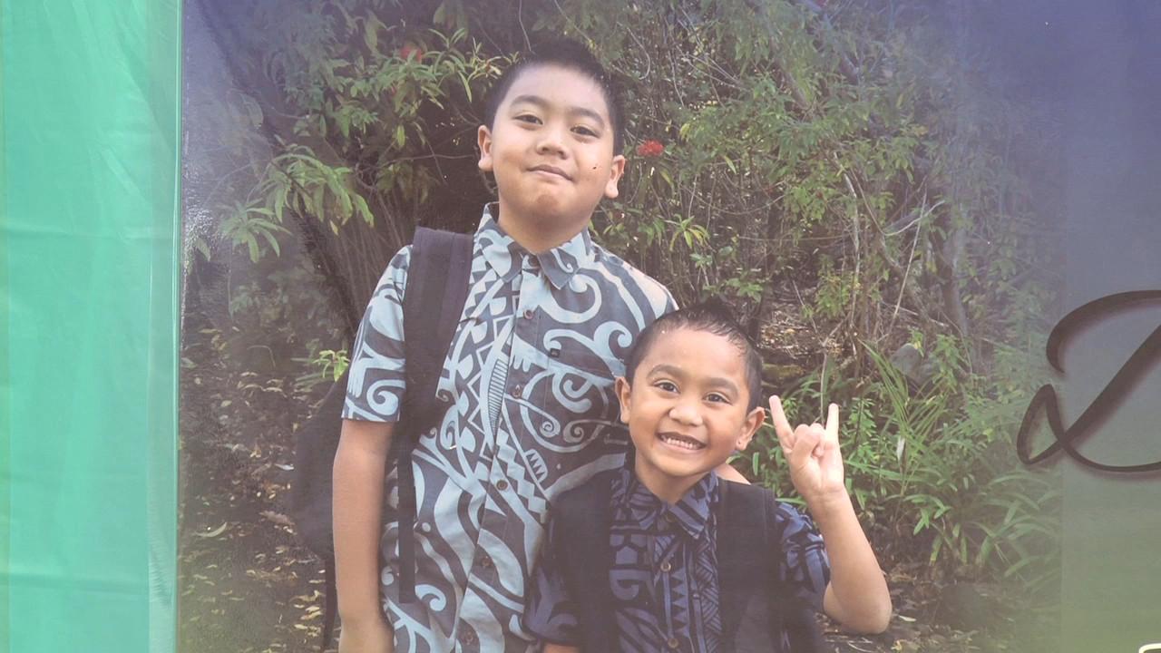 11-year old year old Dexen and 6-year old Kaeden Matsuyama