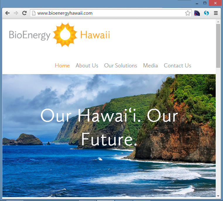 BioEnergy Hawaii Plans $50 Million Facility