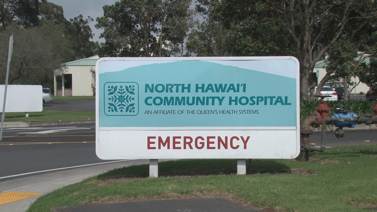 North Hawaii Community Hospital in Waimea, where the victim was reportedly taken. Image taken from video by Visionary Video