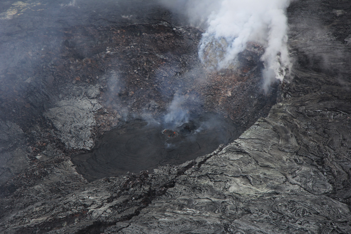 Volcano Alert Downgraded From Warning To Watch