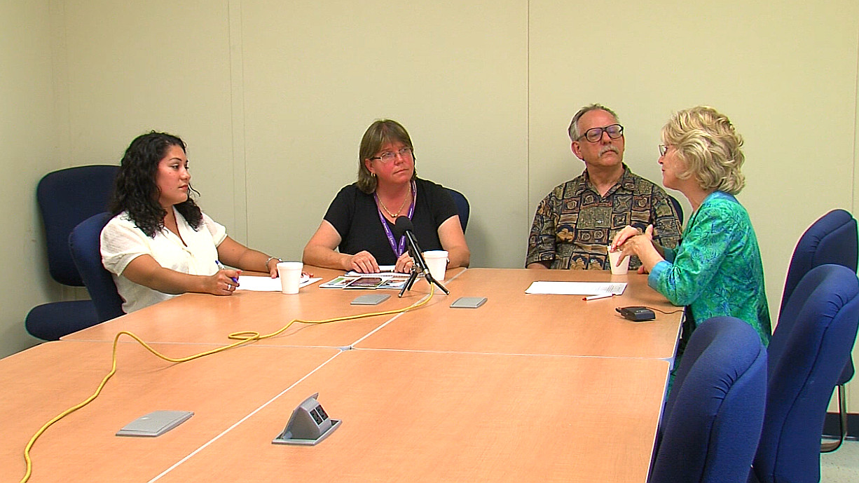 Sherry Bracken interviews UH Hilo College of Pharmacy Researcher Dr. Susan Jarvi, Dr. Jon Martel and Marlena Dixon for an interview with Sherry Bracken on Island Issues which aired on Sunday, March 29.