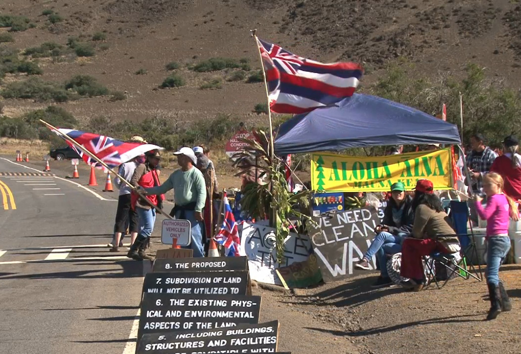 Mauna Kea Blockade Intensifies, Arrests Expected