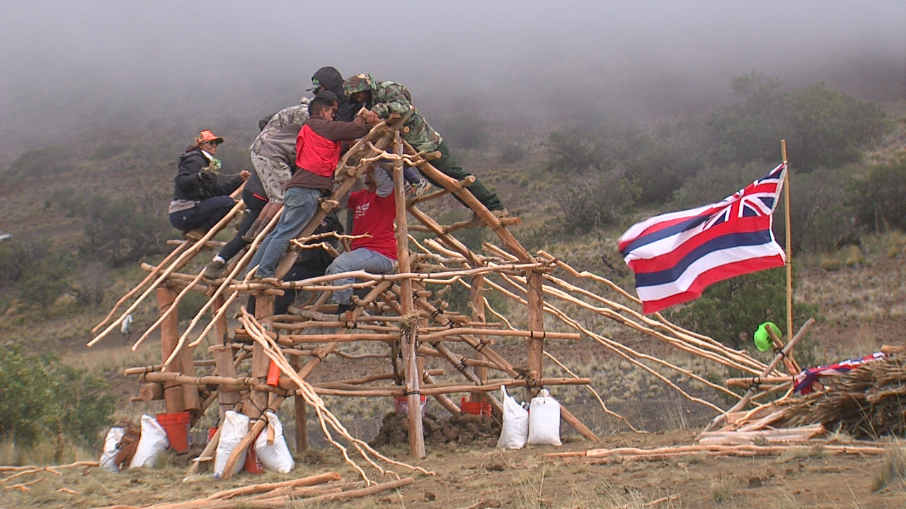 VIDEO: Mauna Kea Hui Encampment Grows