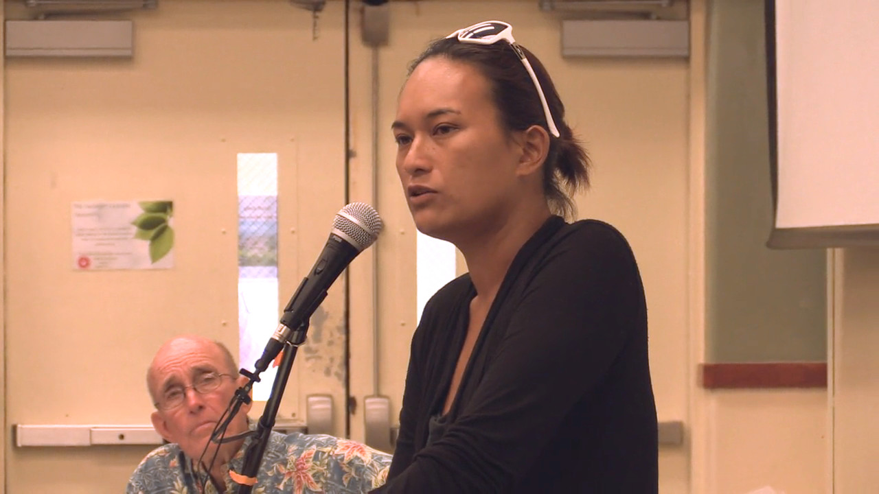 VIDEO: Testimony Against TMT On Mauna Kea Dominates UH Meeting