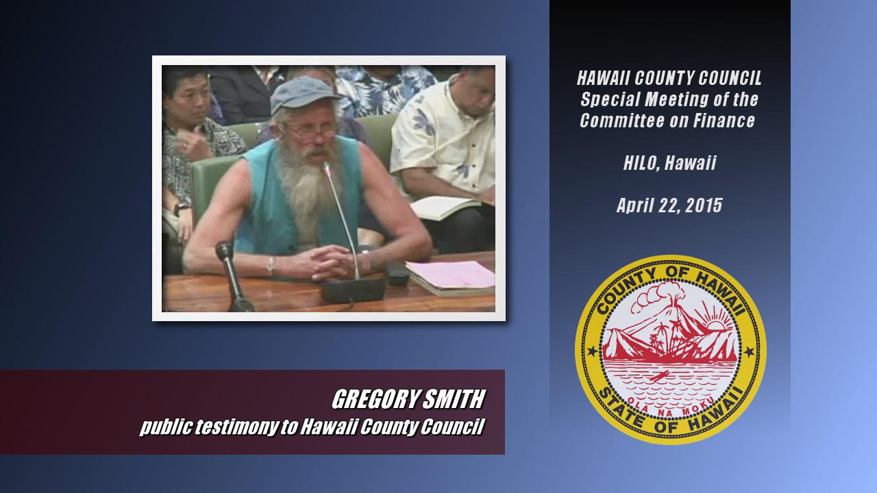 VIDEO: Public Criticizes Mayor Kenoi At Committee Hearing