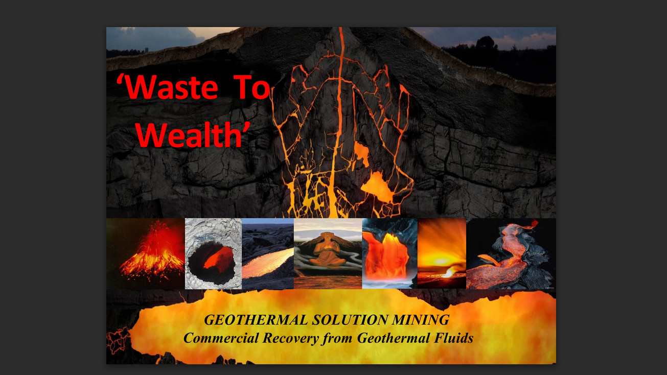 Title slide from the Waste to Wealth presentation by RJ Hampton and Sativa Sultan