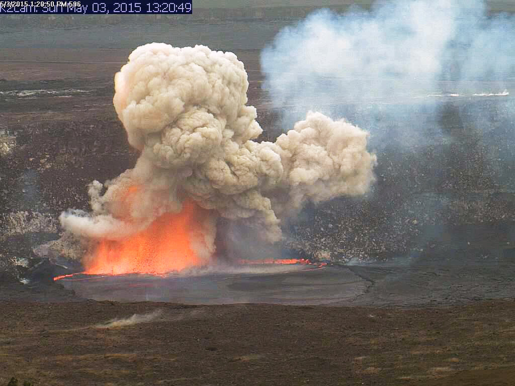 VIDEO: Volcano Explosion Caught On Camera