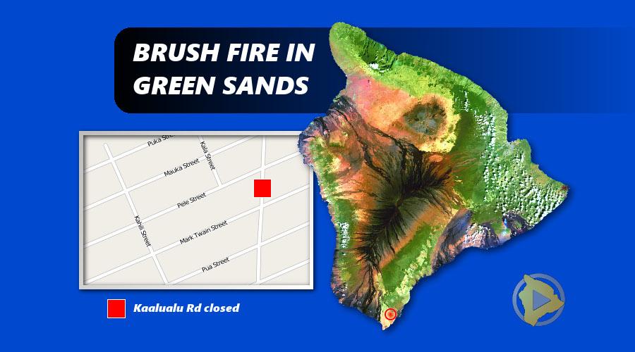 Runaway Brushfire Evacuates Green Sands and Mark Twain Subdivisions