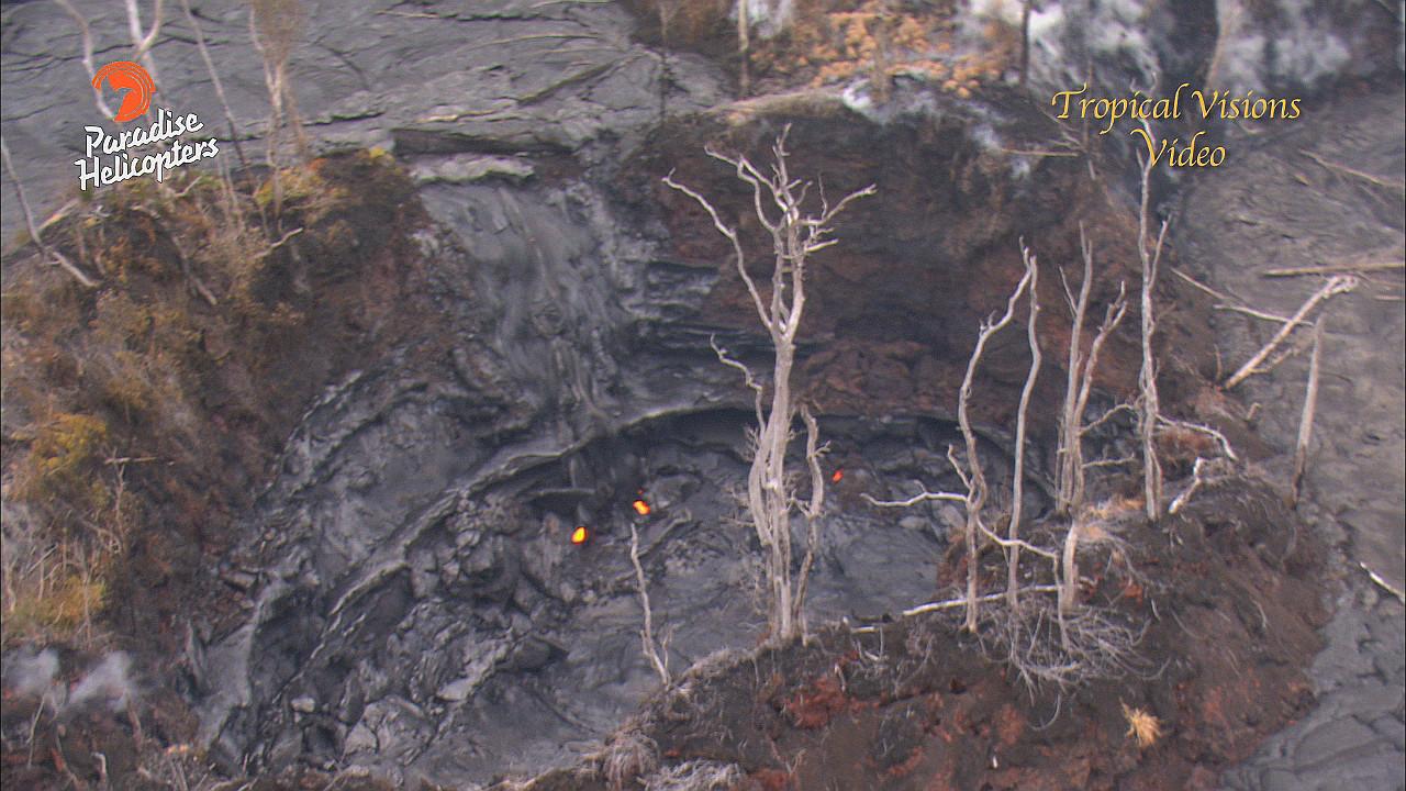 VIDEO: Volcano Update – Quakes Increase, Lava Active, Summit Lake Drops