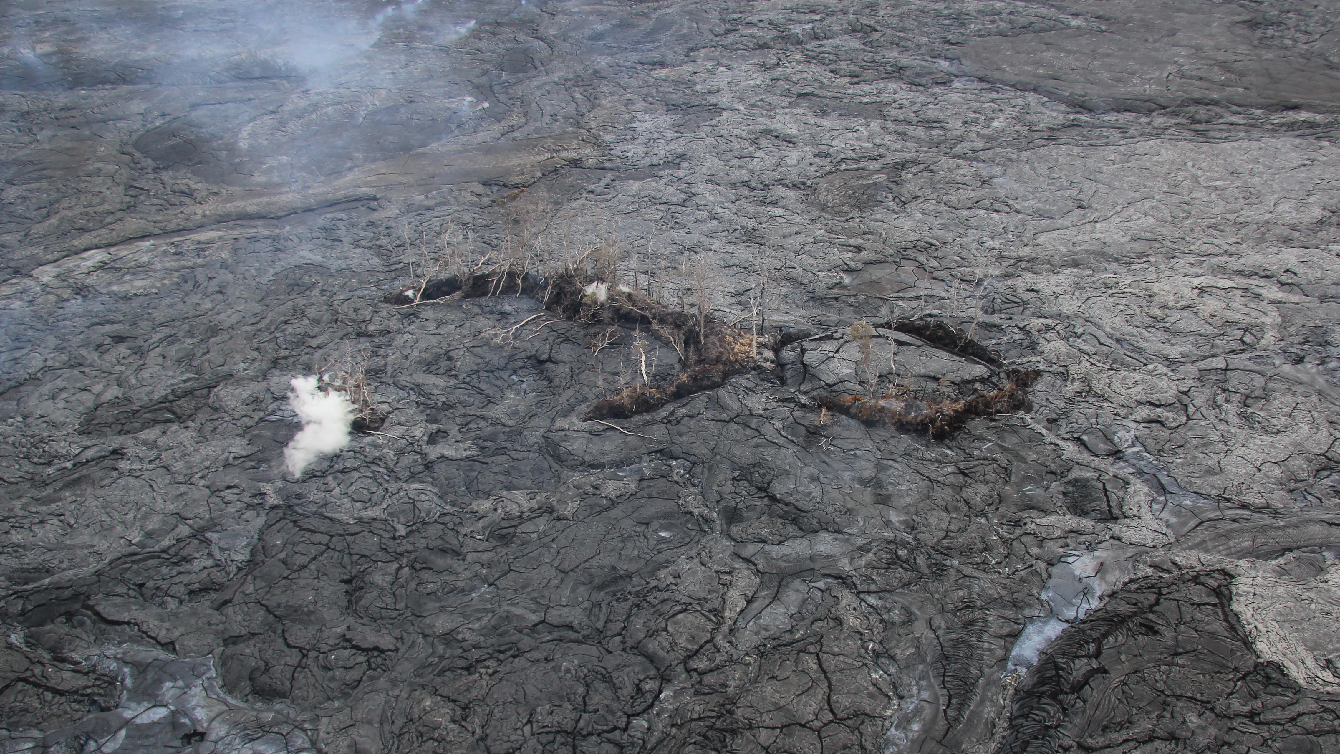 Pu'u Kahaualeʻa Buried By Lava, BLNR Considers Continued Closure