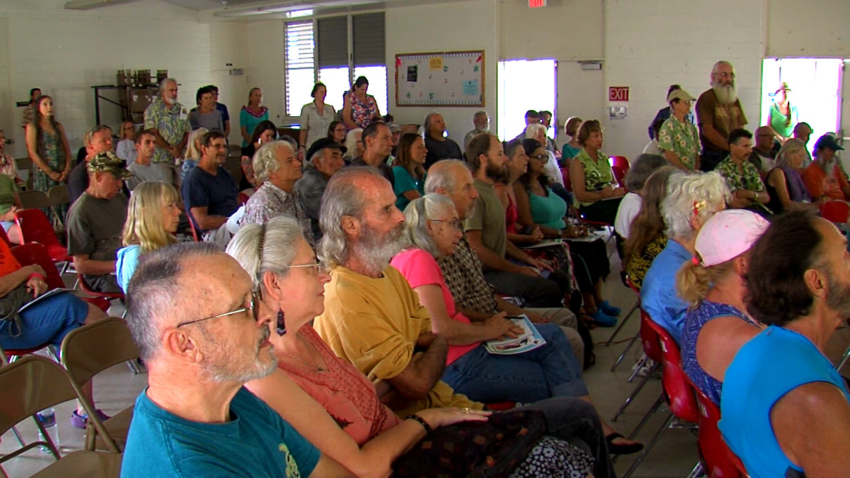 VIDEO: Puna Residents Pack Rat Lungworm Disease Forum