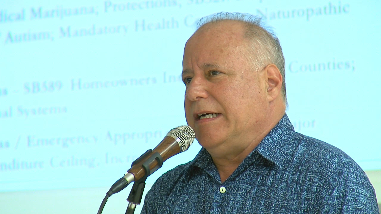 VIDEO: Sen. Ruderman Disappointed By Legislative Lava Response