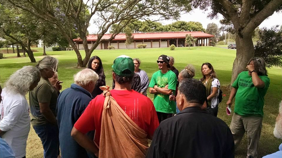 VIDEO: Ho'oponopono Considered For Mauna Kea Arrestees