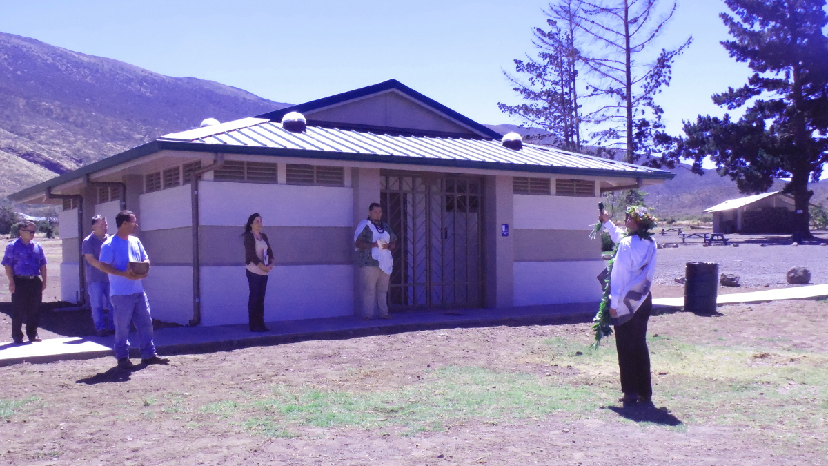 Mauna Kea Recreation Area Gets New Restrooms