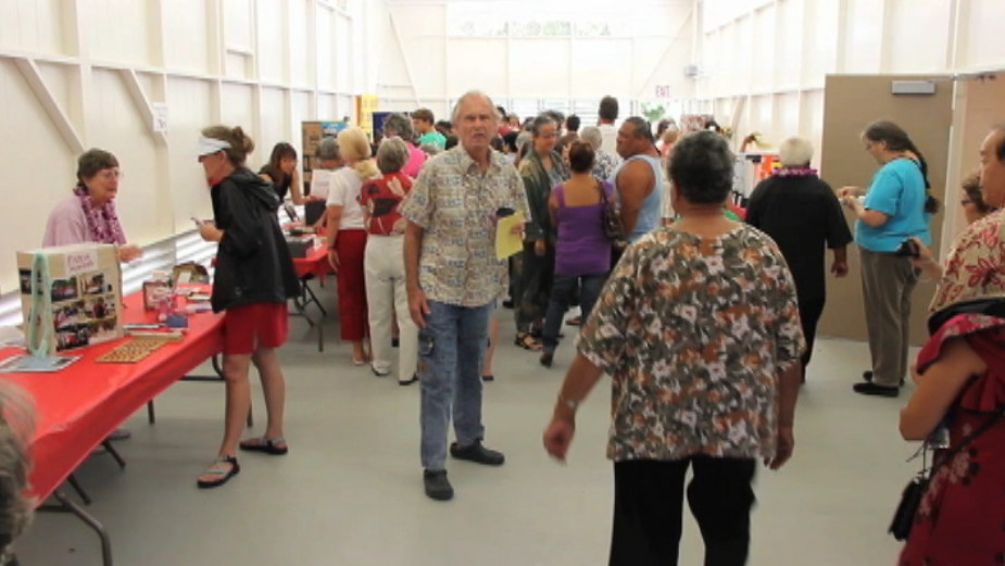 File photo from video of the Pahoa Senior Center opening in June 2012.