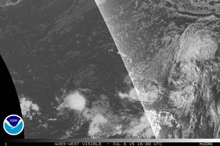 Tropical Depression Four-E Still Expected To Become Tropical Storm