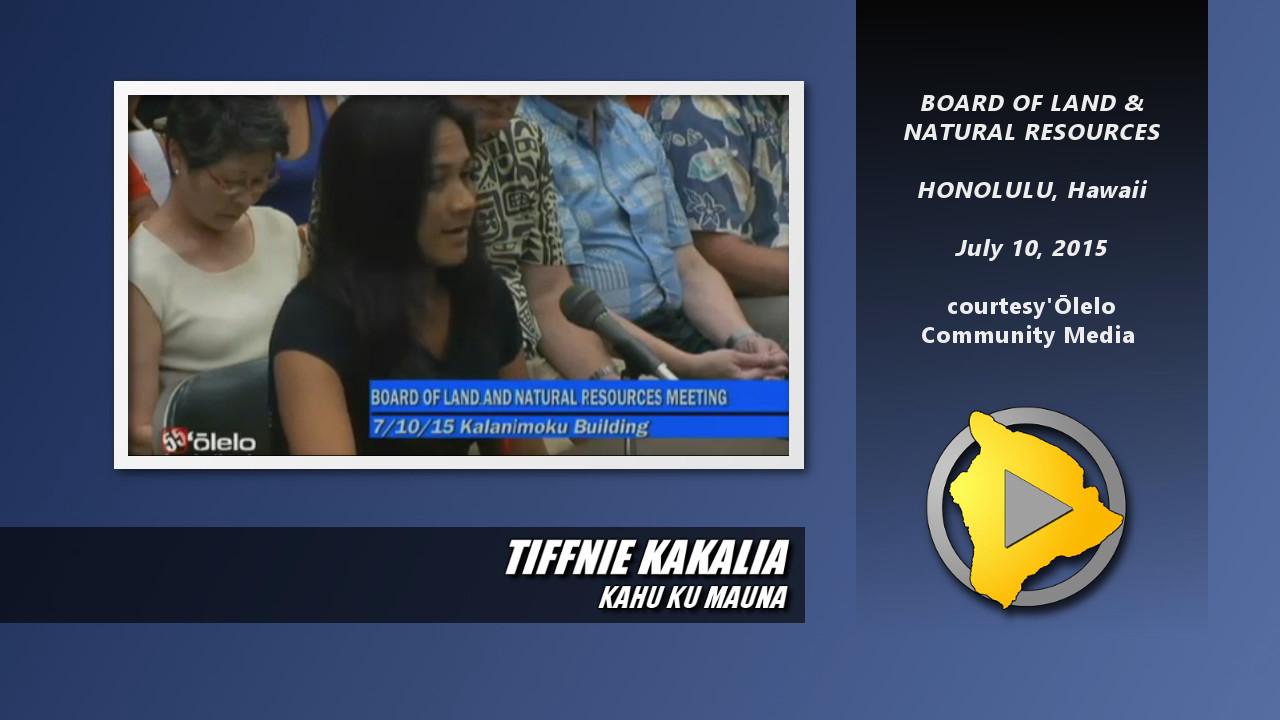 VIDEO: Kahu Ku Mauna Not Consulted, Member Says
