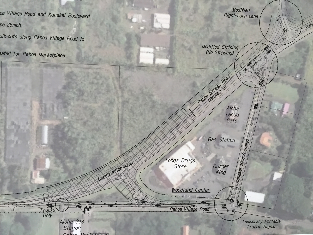 A look at the detours planned during construction.