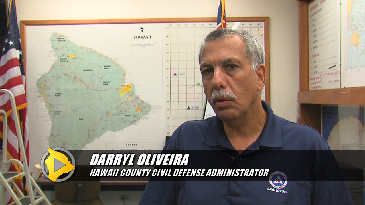 VIDEO: One Year After Iselle, Hawaii Preps For Guillermo