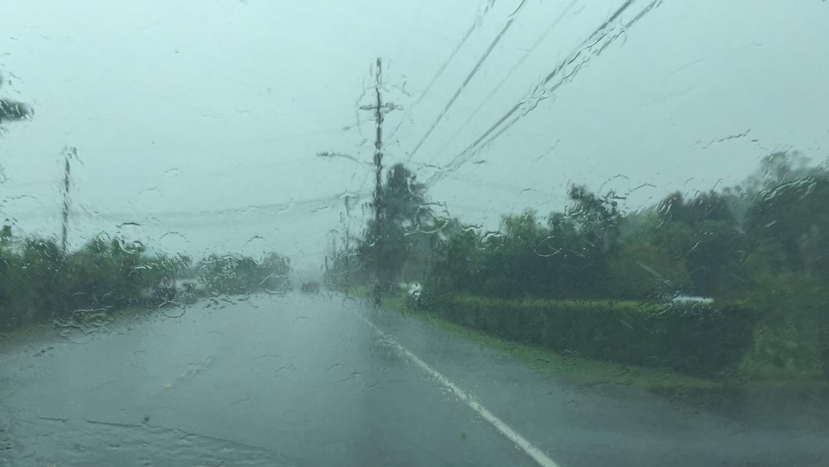 Noon Update – Guillermo Rains Begin On Hawaii Island