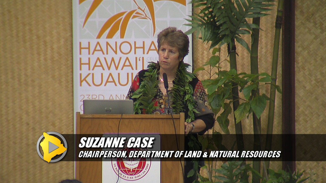 VIDEO: DLNR Chair Suzanne Case on Mauna Kea
