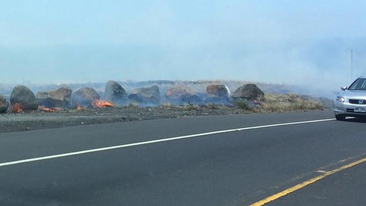 Runaway Brushfire Near Kawaihae