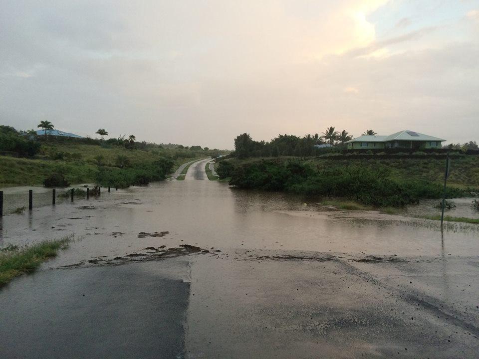 Evacuations In Kawaihae Village, Flash Flood Warning Extended