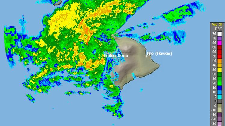 Flash Flood Warning For Kona and Kohala