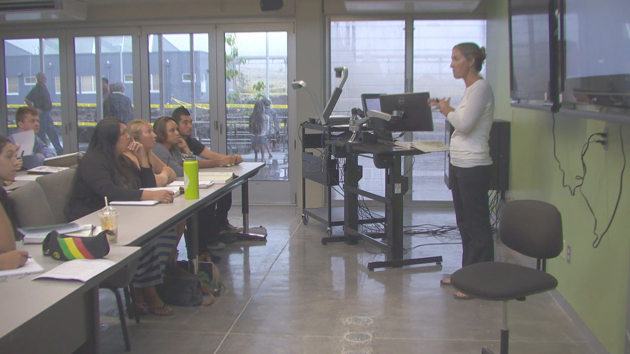 VIDEO: First Day Of Classes At Palamanui