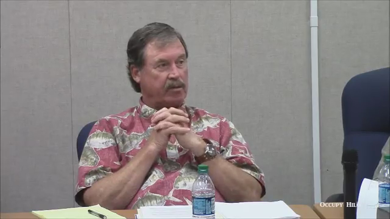 VIDEO: MKMB Chair Offended By Mauna Kea Land Transfer