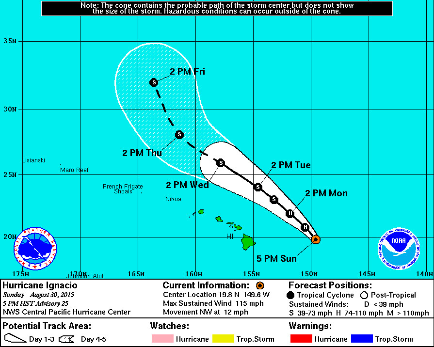 Tropical Storm Watch Lifted For Hawaii Island