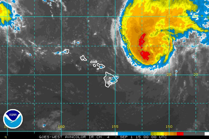 Big Island Under Flood Advisory As Hurricane Passes