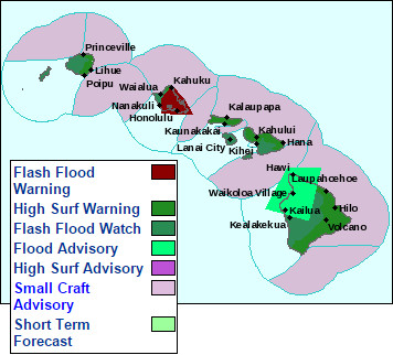 Big Island Under Flood Advisory, Again