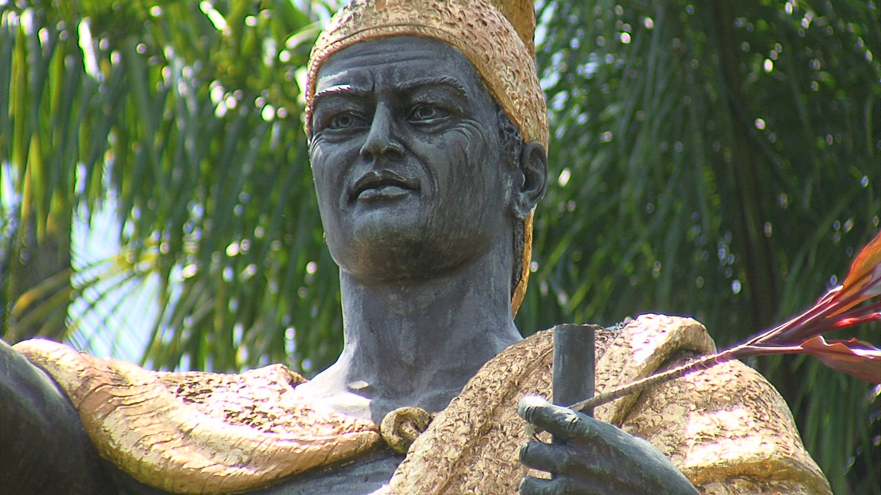 Kamehameha Spear Found In Park Overgrowth