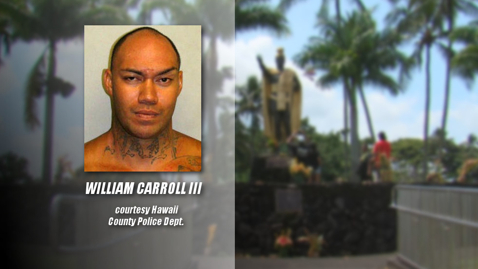 Man Charged In Theft Of Kamehameha Spear