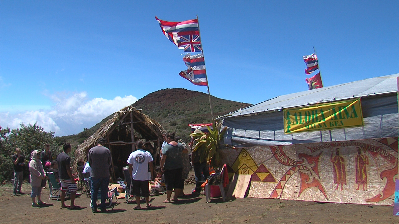 DLNR And TMT Opponents Compromise: Tent Will Come Down