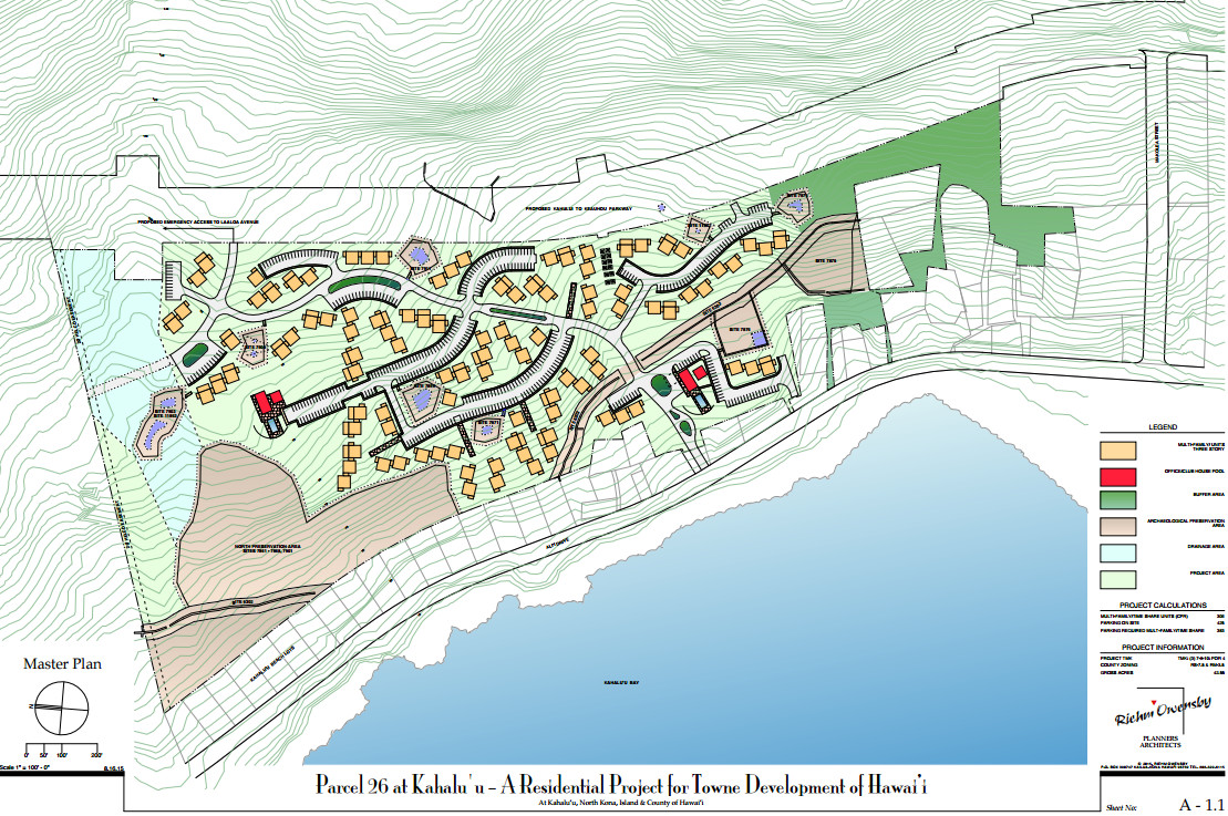 "Image from the Final EA for ""Parcel 26 at Kahalu'u - A Residential Project for Towne Development of Hawai'i"""