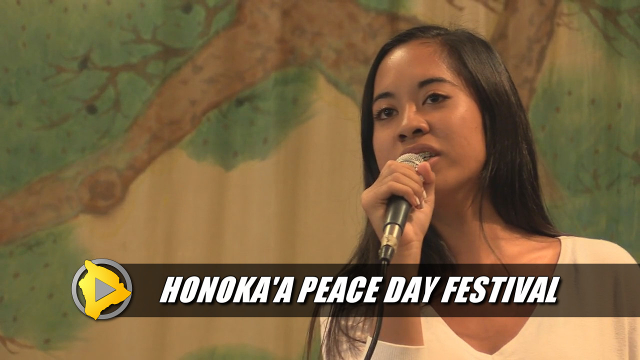 VIDEO: Honokaa Peace Day Parade & Festival
