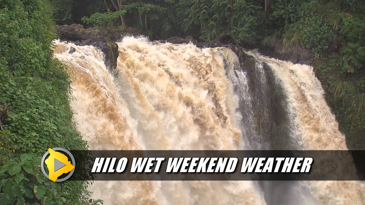 VIDEO: Ho'olaulea Spared Hilo's Wet Weekend Weather